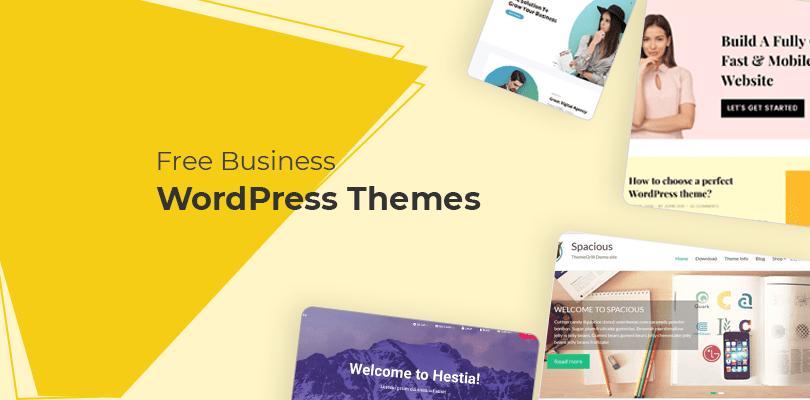 free business WordPress themes