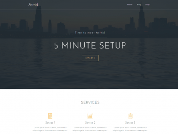 Astrid WordPress theme