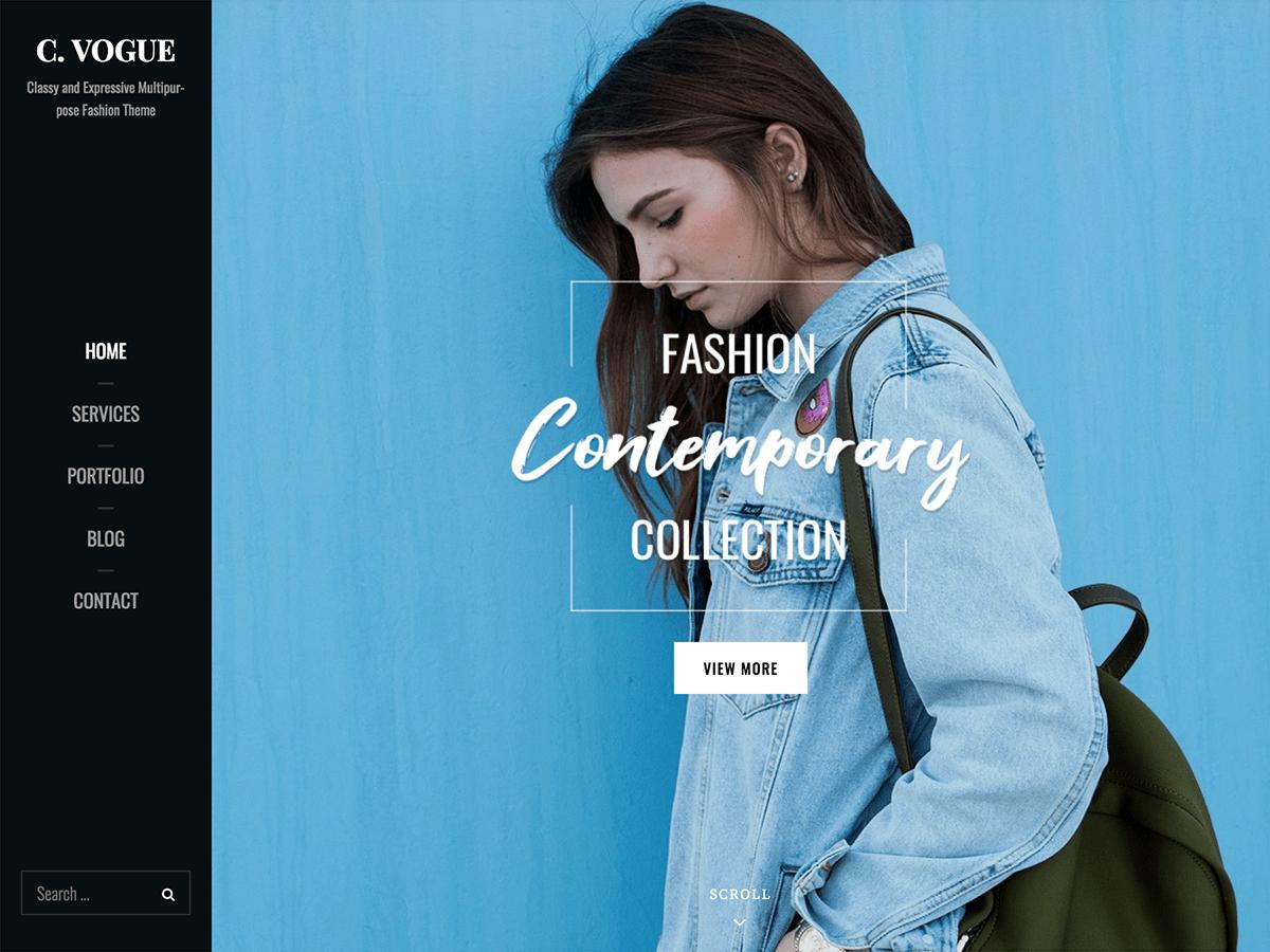 Catch Vogue WordPress Theme