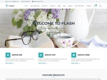 Flash WordPress theme
