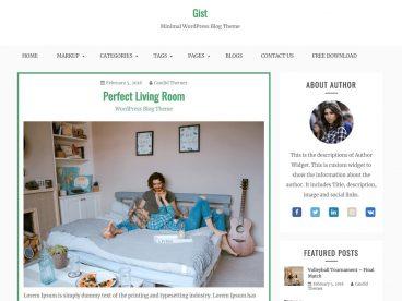 Gist WordPress Theme