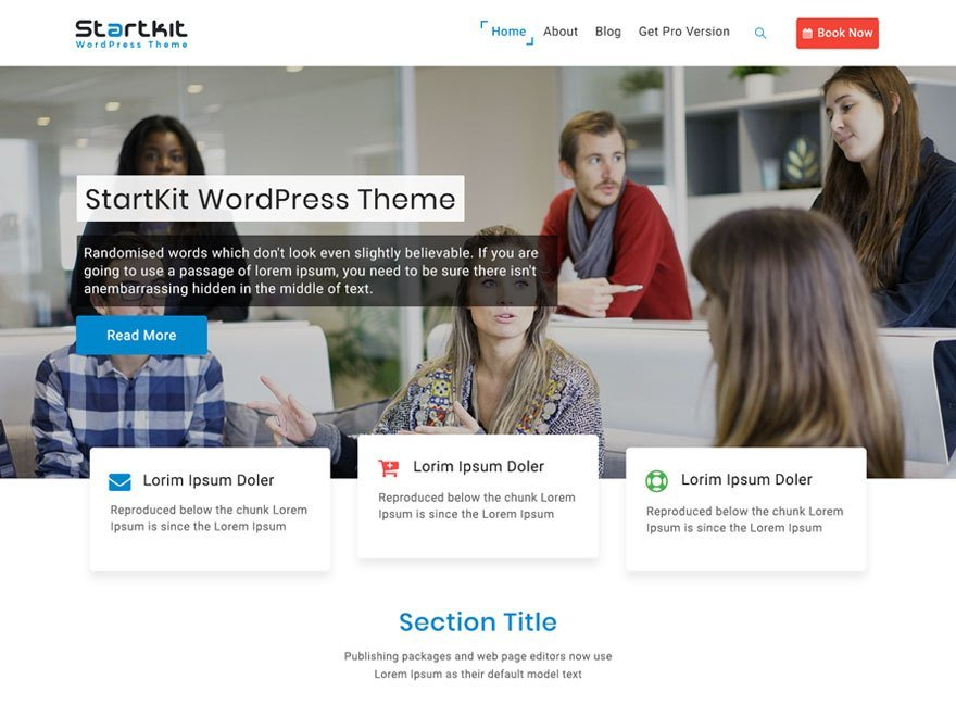 StartKit WordPress theme