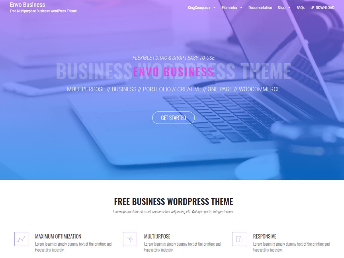Envo Business WordPress Theme