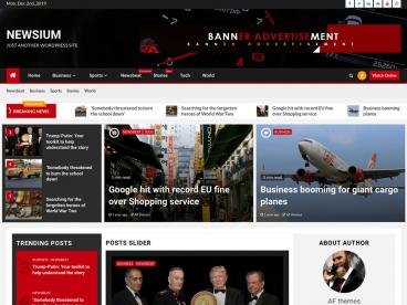 Newsium WordPress Theme
